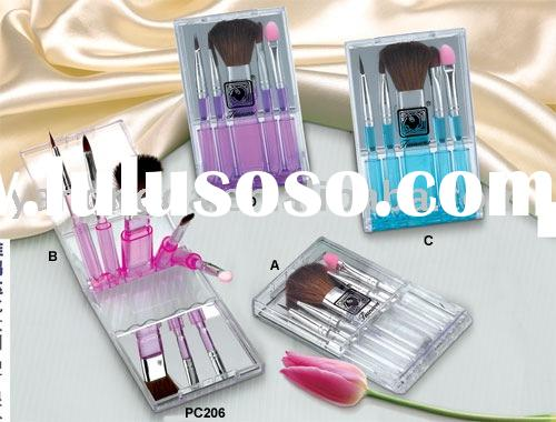 cosmetic brush, makeup brush kit,mini cosmetic brush set