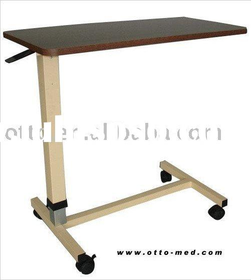 4 wheel Overbed Table