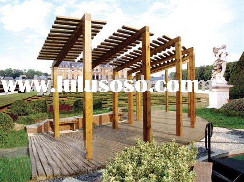 Beatiful and High Quality Outdoor Wooden Flower Pergola
