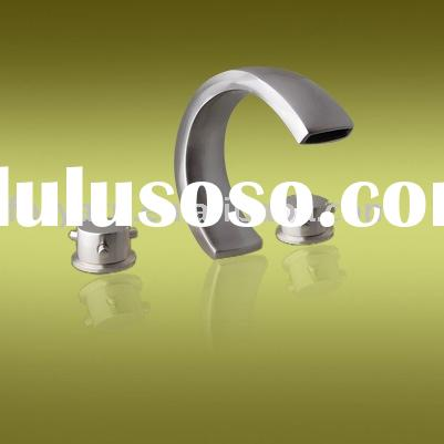Brass bathroom fittings accessories pull out kitchen for Bathroom fixtures brushed nickel finish