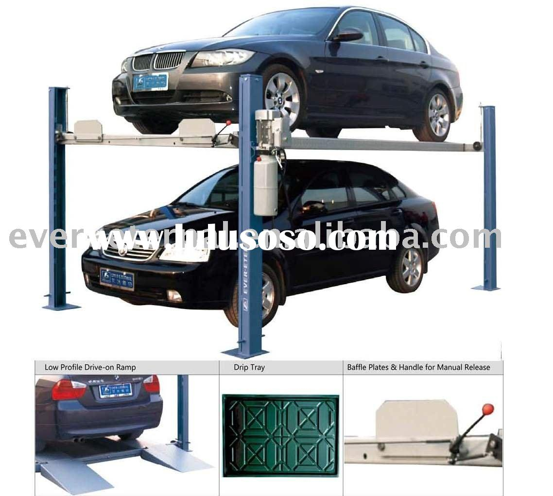 CAR LIFT-FOUR POST PARKING LIFT EE-6435P