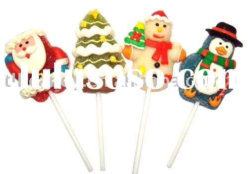 Christmas Jelly Lollipops Candy
