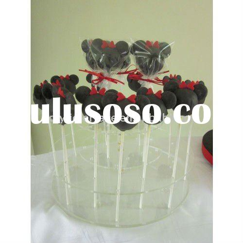 Clear Acrylic Cake Pops Display Holder