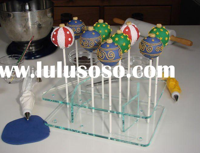 Clear Acrylic Cake Pops Stand