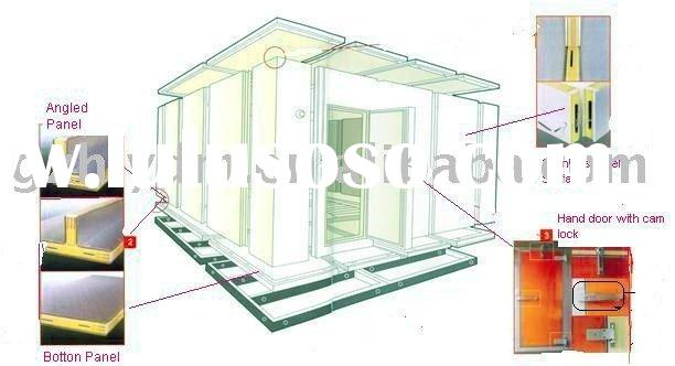 Cold room Walk in freezer Cold storage room(in PU construction)