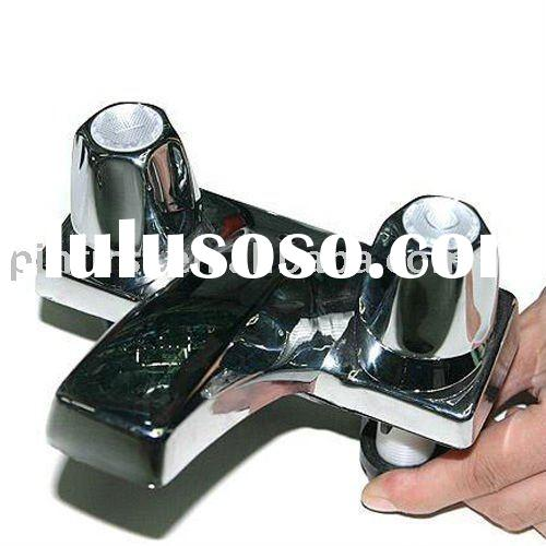 Glass Waterfall faucet Bath Basin Mixer Tap chrome Water Tap Bathroom Taps