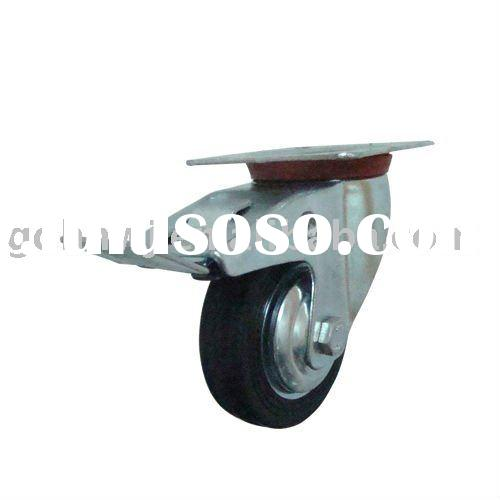Guaranteed Rubber and Iron Industrial Caster