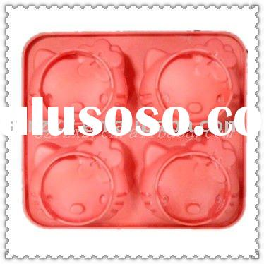 Hello kitty bakeware silicone cake moulds