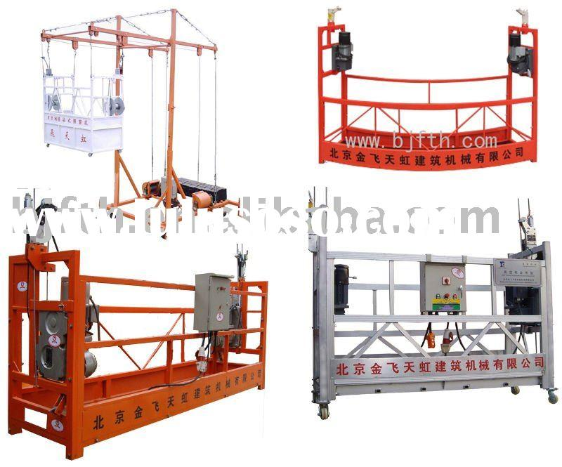 High-quality  power building cleaning machine/gondola with caster
