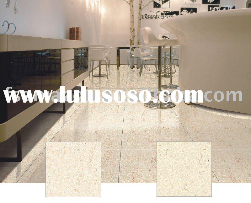 Nano polished porcelain tile