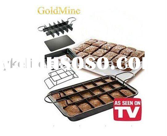 Perfect Brownie Baking Pan -Bakeware, Ovenware,Comal As Seen on Tv Product