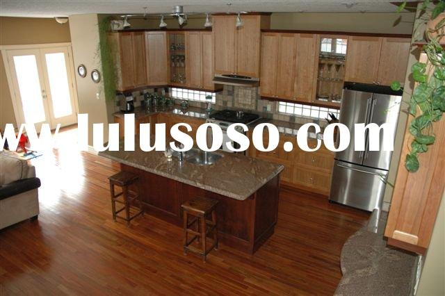 Small Solid Maple Kitchen Cabinets /Furniture for Hotel Project