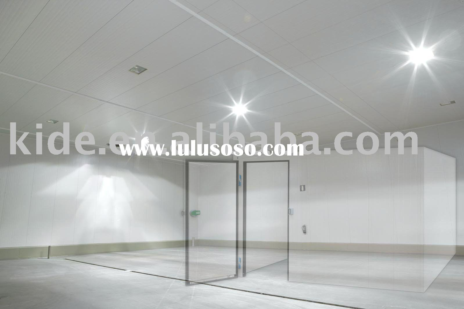 Walk-in freezer and cold room