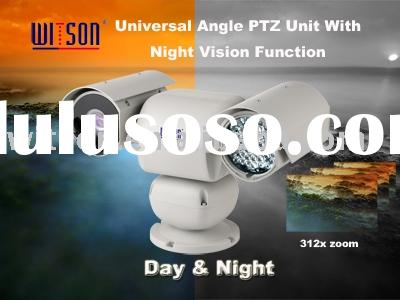 Witson W3-SD1801 Series Outdoor Universal Angle PTZ Unit With 100m IR Day & Night Speed Dome Cam