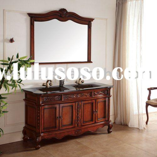 French Antique Wooden Bathroom Cabinet For Sale Price China Manufacturer Supplier 45682