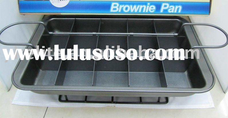 perfect brownie Baking Pan nonstick divider pan