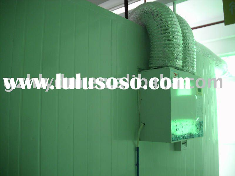 roof style chiller  walk in freezer modular cold room