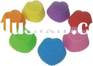 silicone cup cake mould/ baking tools