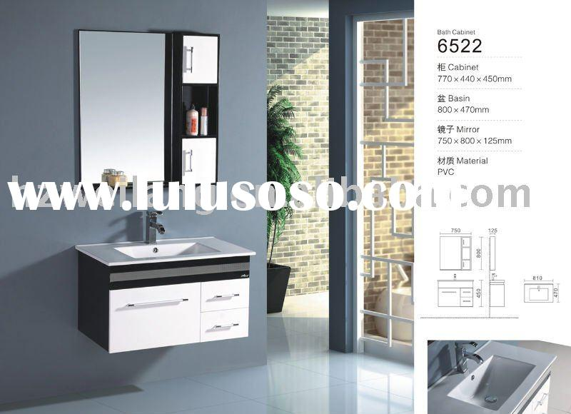 small pvc bathroom vanities furniture from China