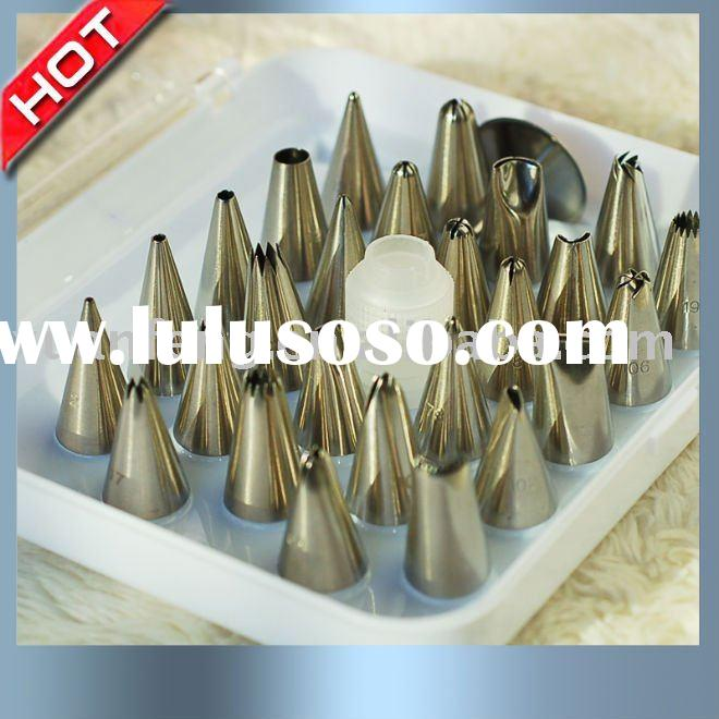 stainless steel cake tools set and cake decoration