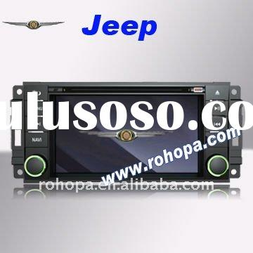 Car DVD GPS Player chrysler Dodge/Jeep/ with 8 disc memory/ipod rds/PIP/Supporting Rockford