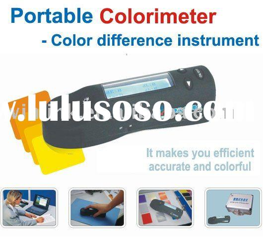 Color Quality Control Portable Colorimeter
