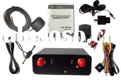GPS tracker system for vehicle