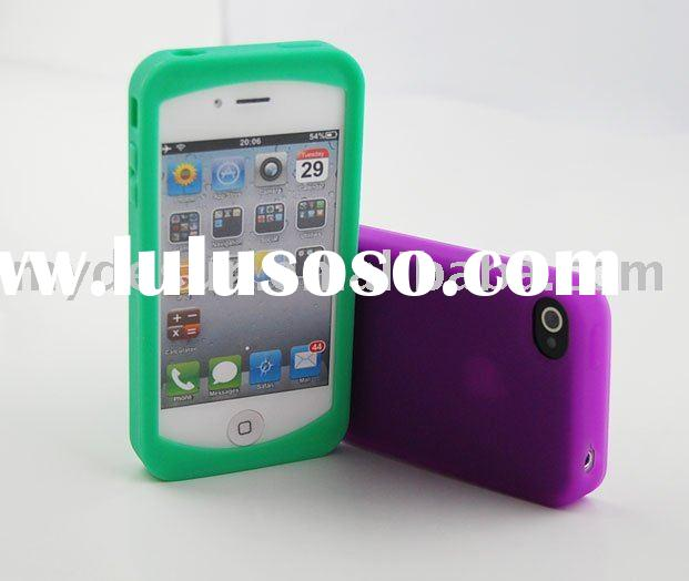 High Quality Thick Silicone Skin Cases for Apple iPhone 4