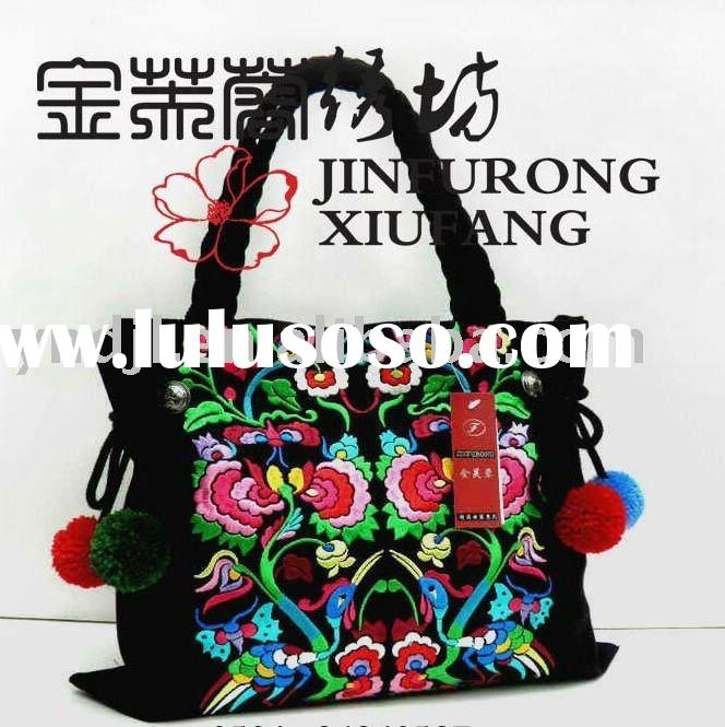 High quality embroidery bags
