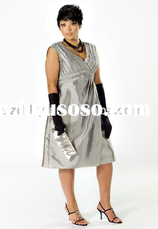 Hotsale 2010 Fashionable High-quality Plus size Evening dress SYF-1614