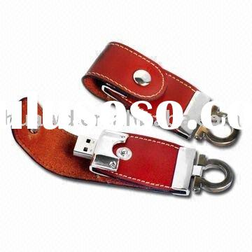 Leather usb flash drive H628