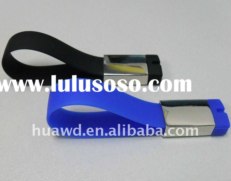 New Bracelets shaped USB flash drive 2GB with customized logo