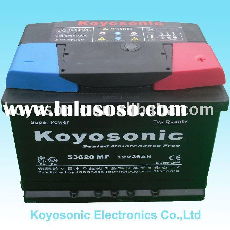 Offer  DIN 36 12v36AH high quality Auto battery