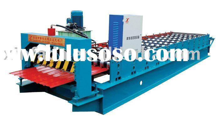 Roll Forming Machines For Production Of Metal Roofing Tiles And Corrugated Sheet