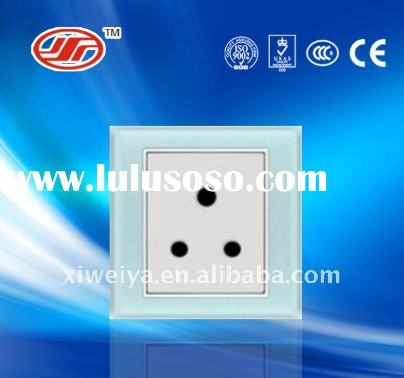 decorative electrical wall switch and socket