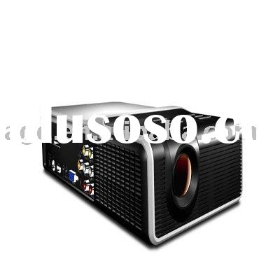 high quality   LCOS LED projector Support HDMI DVD high definition