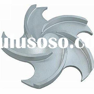 impeller water pump product stainless steel casting precision casting investment casting