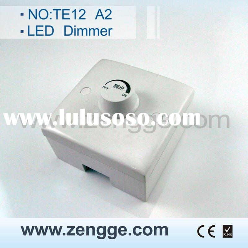 led wall dimmer switch with CE&RoHS certificate