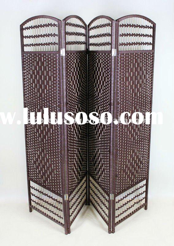 manual woven room divider&screen