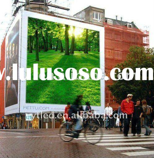 reliable and high definition full color P10 outdoor led video wall for advertising
