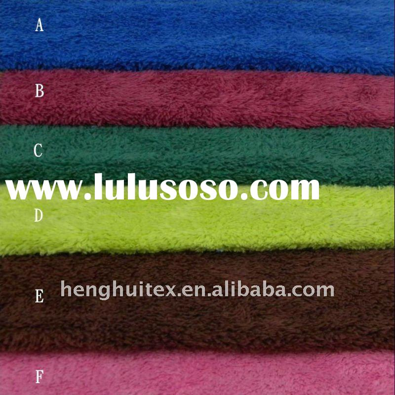 knitted deep pile fabric/knitted plush fabric