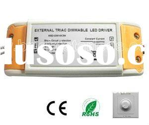 External  constant current triac dimmable led driver