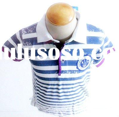 boy stripe short sleeve t-shirt
