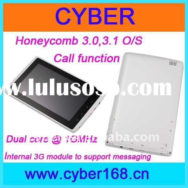 Cheapest 7'' tablet pc with honeycomb 3.0,3.1 OS, FM210 module, Internal 3G module,
