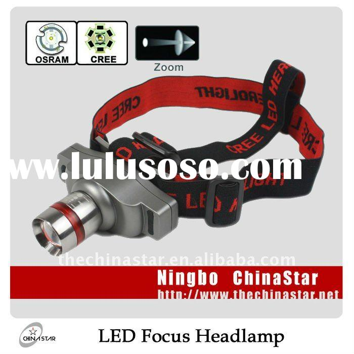 High Power CREE 3W Rechargeable LED Headlamp