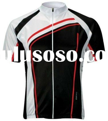 Men's Printed Short Sleeve Cycling Jersey