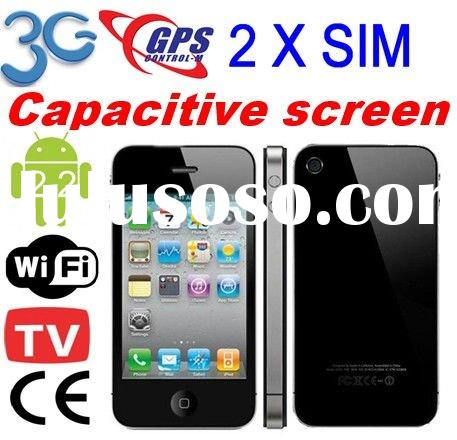 T&F I12 Android wifi 3G GPS dual sim card CE Certificate android tv phone