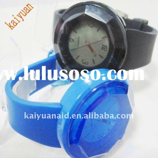 hot-selling   silicone quartz watch