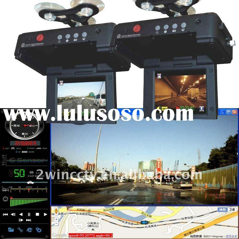 1080P LCD GPS G-sensor Car black box