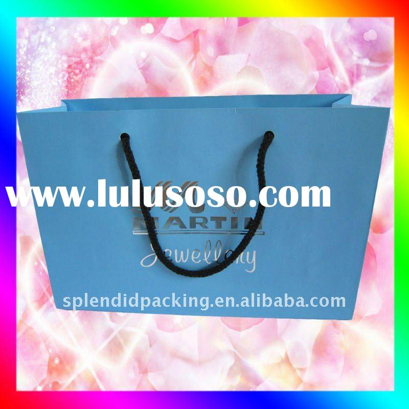 2011 Bestselling promotional shopping paper bag SP-0001